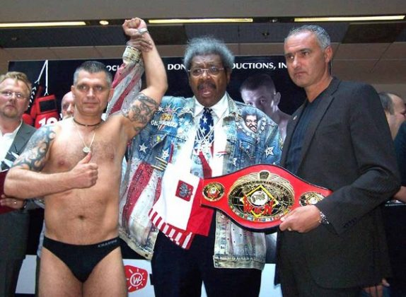 Cezary Podraza, Don King, Stephane Cabrera