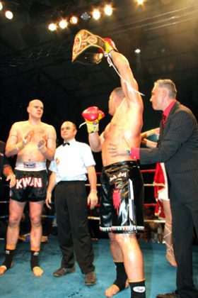 Jerome Le Banner Defends WKN World Title
