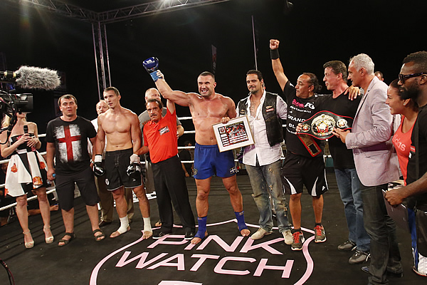 Jerome Le Banner Victorious at Fight Night Saint Tropez