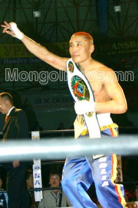 Namjilmaa Bat Erdene Kickboxing World Champion