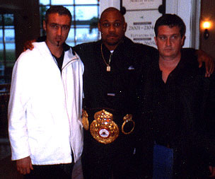 Stephane Cabrera, Byron Mitchell, Jean-Christophe Courreges