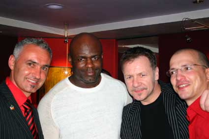 Stephane Cabrera, Ernesto Hoost, Billy Murray, Carl Emery