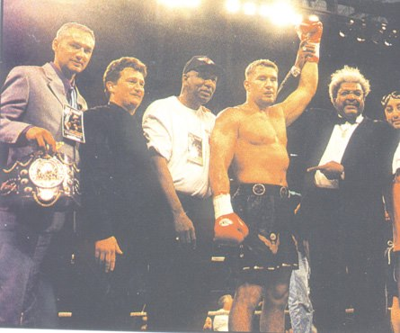 Stephane Cabrera, Jean-Christophe Courreges, Don Turner, Jerome Le Banner, Don King