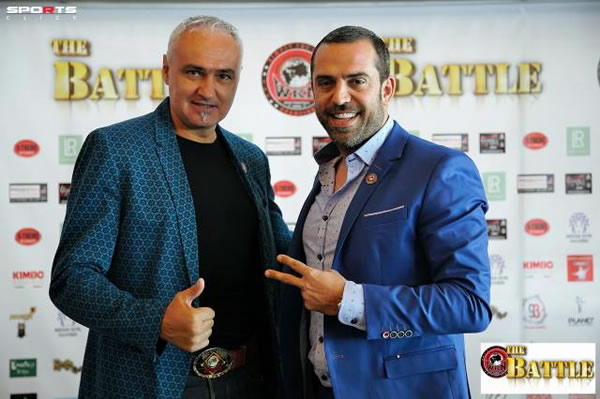 Stephane Cabrera Develops Kickboxing in Greece