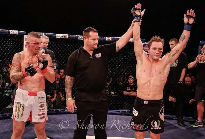 Caged Muay Thai 8 Results: Brad Riddell Wins vs John Wayne Parr