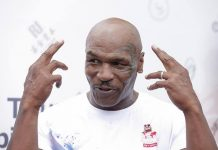 Mike Tyson Attends Ruenroeng v Casimero Rematch