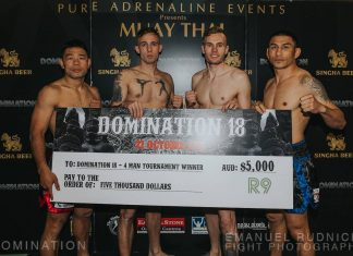 Domination 18 Fight Night Perth Locked and Loaded