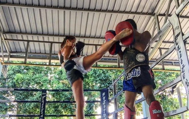Mia Kang Beautifies Muay Thai