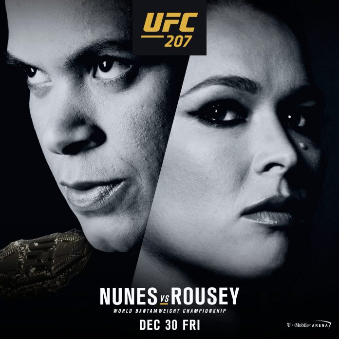 Ronda Rousey vs Amanda Nunes in comeback fight at UFC 207