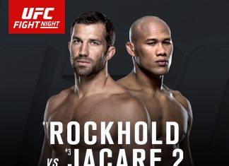 Rockhold vs Jacare 2 Headlines UFC Fight Night Melbourne