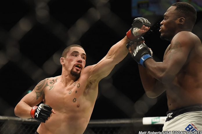 UFC Melbourne Results: Robert Whittaker Defeats Derek Brunson