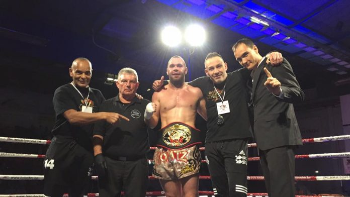 Frederic Kowatz Becomes WKN Kickboxing World Champion