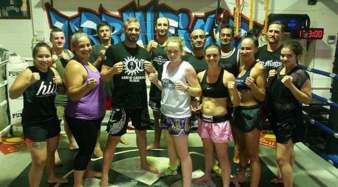 Nathan Carnage Corbett Runs Quality Muay Thai Classes on the Gold Coast