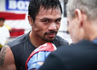Manny Pacquiao next opponent search on Twitter