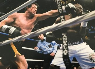 Sylvester Stallone Full Contact punch fiesta