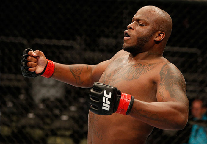 UFC fighter Derrick Lewis says he wants to fight Mark Hunt