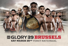 Glory announces participants of kickboxing tournament in Brussels