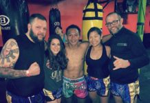 King of Muay Thai Saenchai inspires American girl fighter Jessica Crum