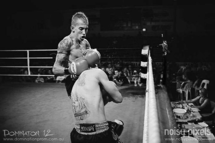 Perth muaythai fighter Jordan Godtfredsen keeps challenging himself
