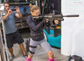 Ronda Rousey guest star in Blindspot TV show on NBC network