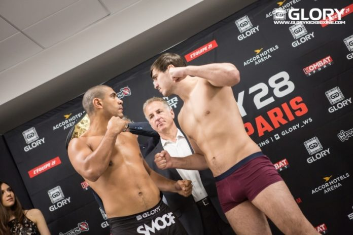Artem Vakhitov vs Saulo Cavalari for kickboxing light heavyweight title headlines Glory 38 Chicago
