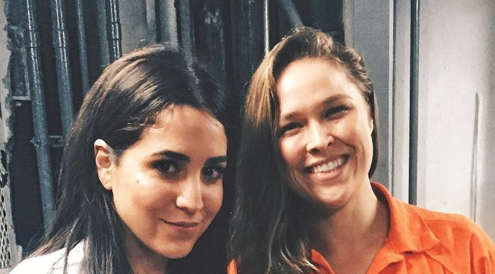 Ronda Rousey wears prison orange uniform at Blindspot on NBC