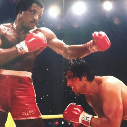 Sylvester Stallone posts three more rare photos from Rocky films