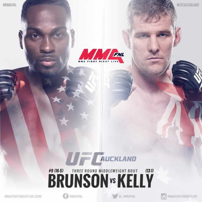 Derek Brunson vs Dan Kelly in works for UFC Fight Night 110 in Auckland