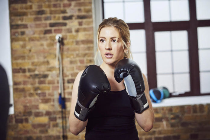 Kickboxing and boxing helps Ellie Goulding overcome anxiety