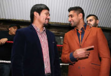 Manny Pacquiao next opponent is Amir Khan on May 20 in UAE
