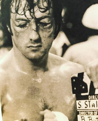 Sylvester Stallone directs Rocky 2 film