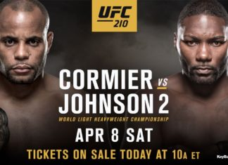 Daniel Cormier faces off Anthony Johnson in defense of the light heavyweight title at UFC 210