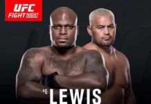 Hunt vs Lewis headlines UFC Fight Night Auckland