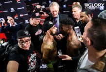 Glory 39 Brussels: Doumbe vs Kongolo for welterweight kickboxing title