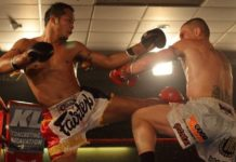 Muay Thai fighters John Wayne Parr and Yodsanklai Fairtex battle out in their third fight