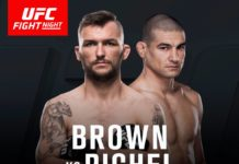 Damien Brown vs Vinc Pichel added to UFC Auckland fight card