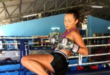 Sports Illustrated swimsuit model Mia Kang talks her muaythai debut