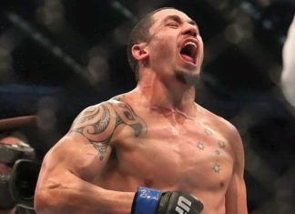Robert Whittaker defeats Jacare Souza at UFC on FOX