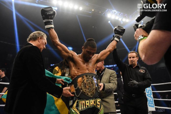 Glory 40 results: Marcus defeats Wilnis and becomes middleweight kickboxing champion