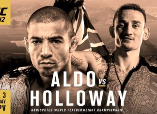 Aldo vs Holloway for UFC featherweight title headlines UFC 212 in Rio