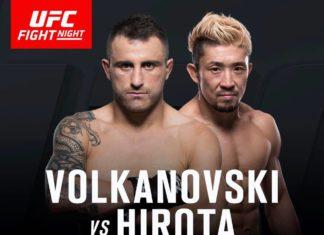 Volkanovski vs Hirota tops up UFC Auckland fight card