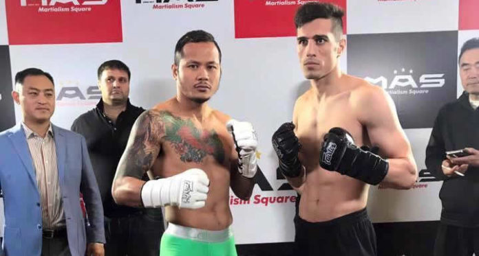 Muay Thai: Yodsanklai vs Masud Minai headlines MAS 1 fight show in China