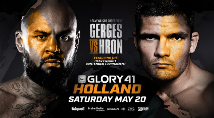 Kickboxing promotion Glory 41 Holland airs live on ESPN 3