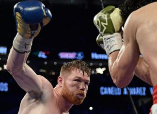 Alvarez dominates Chavez Jr in their HBO boxing encounter