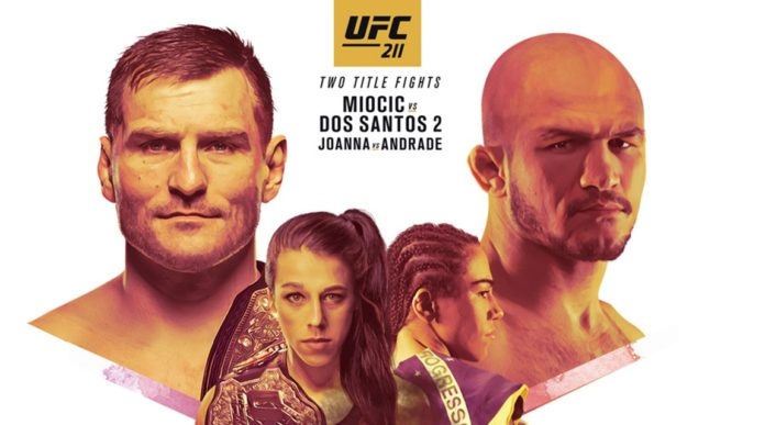 UFC 211 fight card