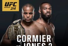 Nine bouts announced for UFC 214 Cormier vs Jones 2