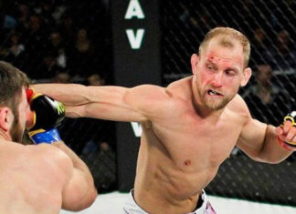 Zak Ottow partakes in UFC Auckland: Lewis vs Hunt
