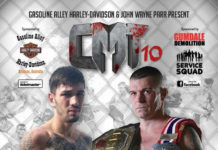Caged Muay Thai 10: JWP vs Purdy - official poster
