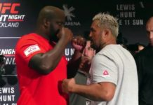 UFC Auckland: Lewis vs Hunt weigh-in results and video