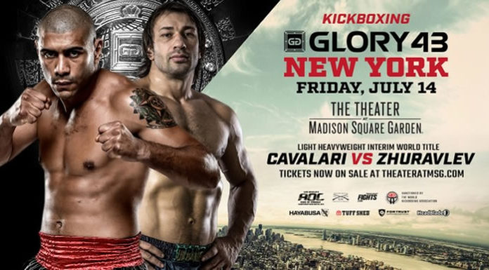 Kickboxing: Zhuravlev faces off Cavalari for interim title at Glory 43 in New York
